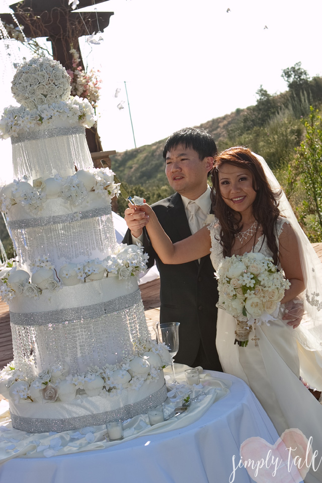 wedding cake, diy wedding cake, white wedding cake, christina aguilera