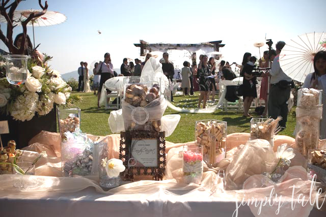 candy buffet, sweet table