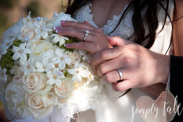 ring, bridal bouquet, bride's bouquet