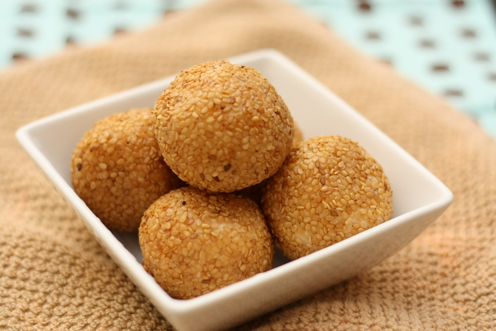 Traditional sesame seed rice balls revisiting recipe 1 simply tale ccuart Images