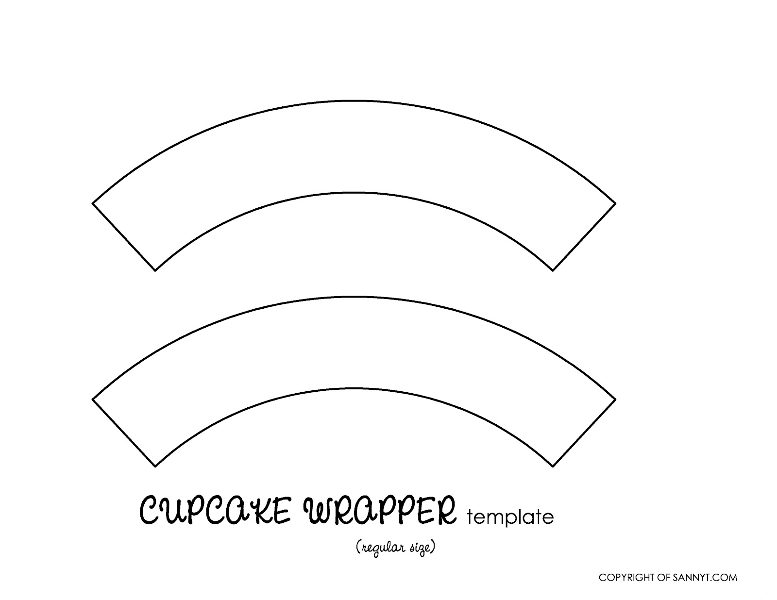 Design your cupcake wrappers simply tale for Giant cupcake liner template