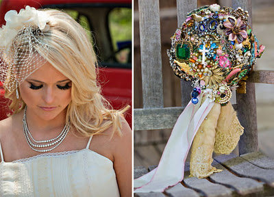 Brooch bouquet, Miranda Lambert's bouquet
