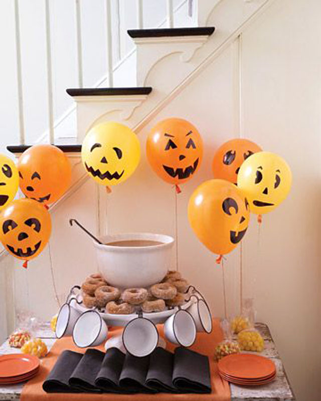 Halloween decoration, balloons