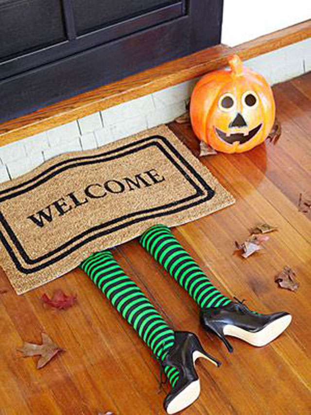 Halloween mat, halloween outdoor decor