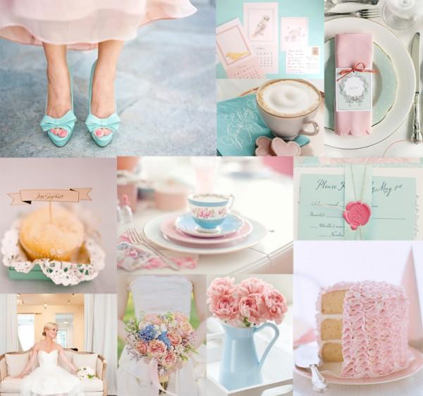 Blue Tiffany And Wedding