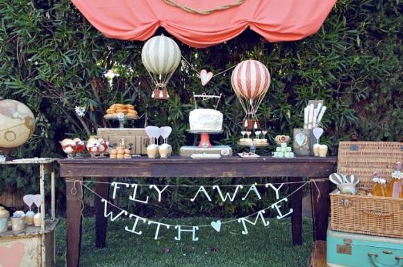 Hot air balloon party, hot air balloon cake, hot air balloon ride, vintage hot air balloon party, hot air ballooon picnic