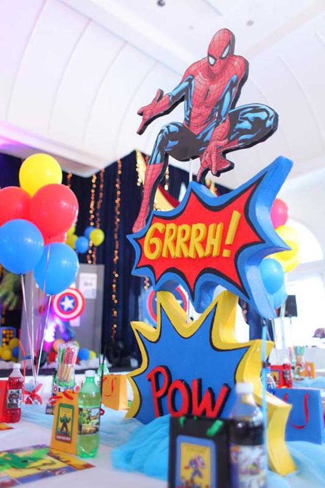 super heroes, the avangers, marvel, boy birthday