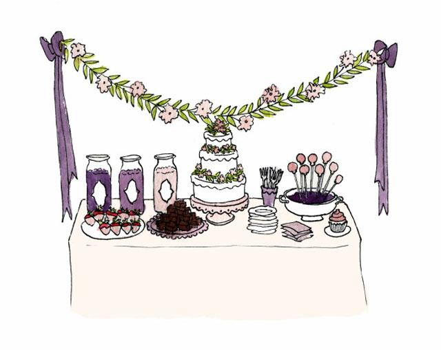 dessert table, amy atlas