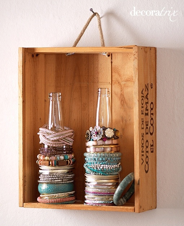 diy jewelry organizer, cheap jewelry organizer