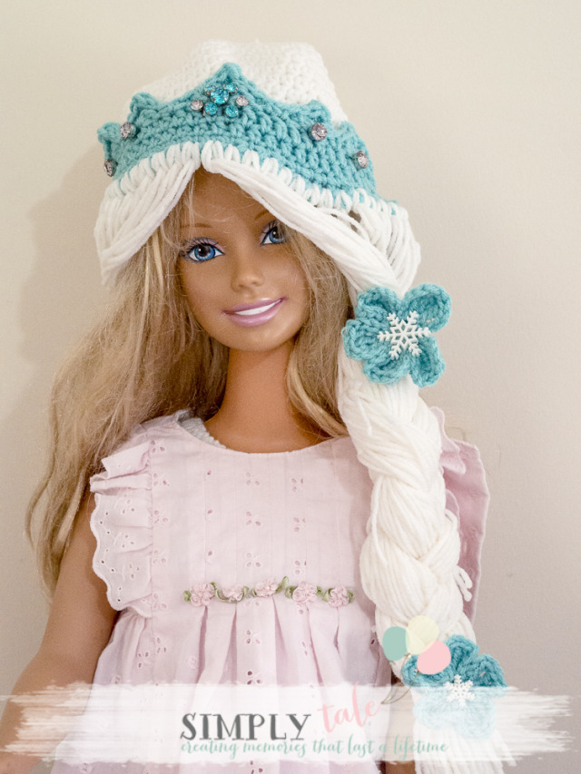 Crochet Hat Patterns Elsa : {DIY costume}: Frozen Elsa crochet hat and tiara patterns ...