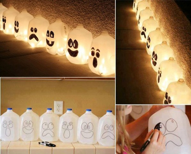 halloween, halloween decortions, diy, craft, ghost decor