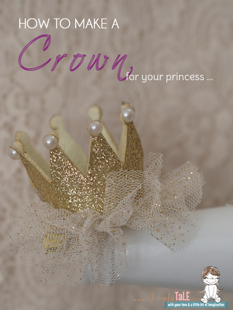 Diy A Crown Hair Clip For My Princess Simply Tale
