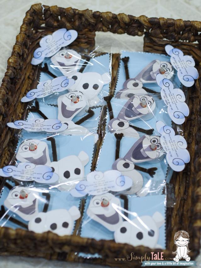 olaf, frozen, snowman, kidscraft, tealight, christmas gift
