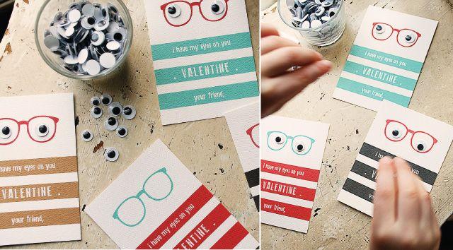 valentine, valentines gift, gift exchange, chocolate, valentine gift for boys, google eyes, craft