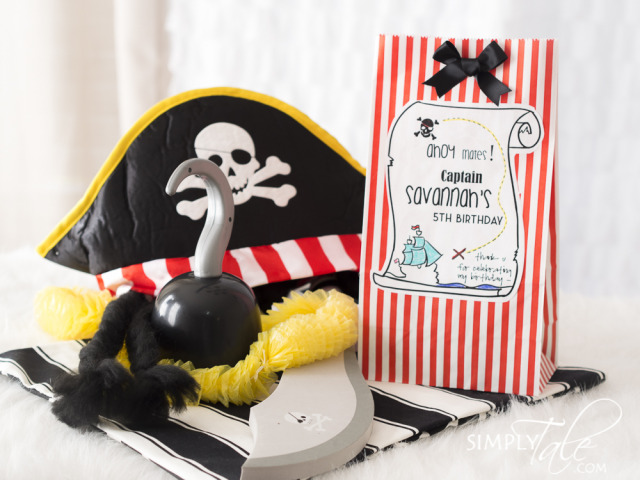 pirate, pirate ship, diy pirate ship, jake and the neverland pirates, princess pirate, cardboard, pirate party favor