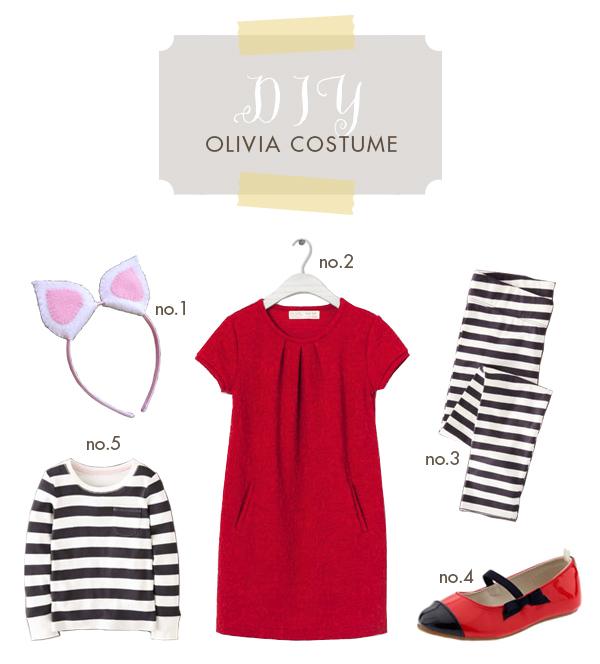 olivia, halloween costume