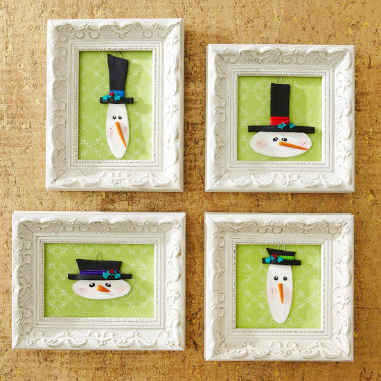 snowman, christmas decorations