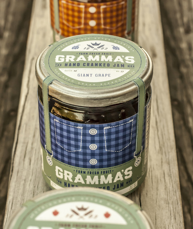 authentic packaging, jam packaging