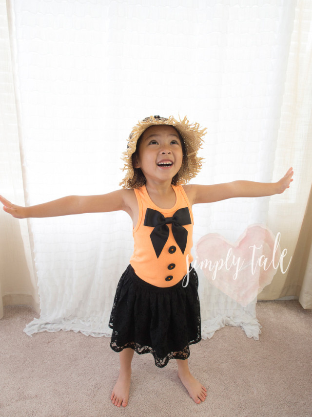 big bow, diy tank tops, scarecrow, pumpkin patch, orange top, fall crown, crown, headpiece, scare crow