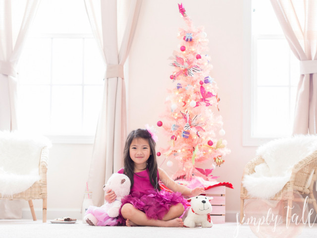 pink christmas, savannah, xevana, pink cherry belle, fashion, kids model
