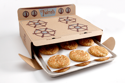oven box, cookie packaging, cool packaging