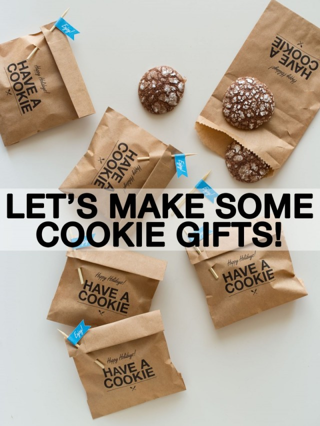pretty packaging, cookie packaging, food packaging, diy packaging, cookie sleeve