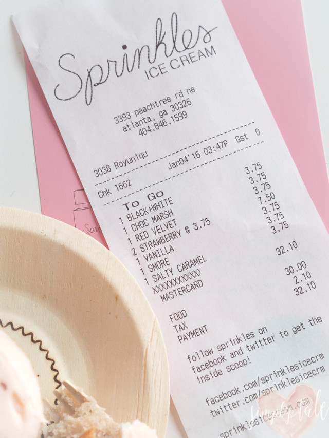 Sprinkle cupcake is located at Lenox Square in Atlanta.