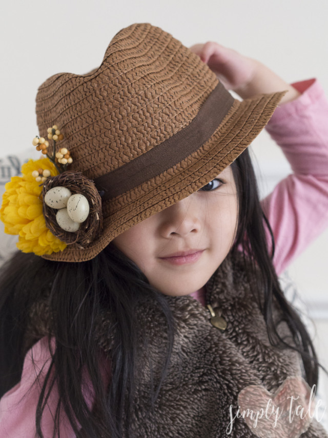 spring hat, derby hat, easter hat, floral hat, flower hat, cool hat