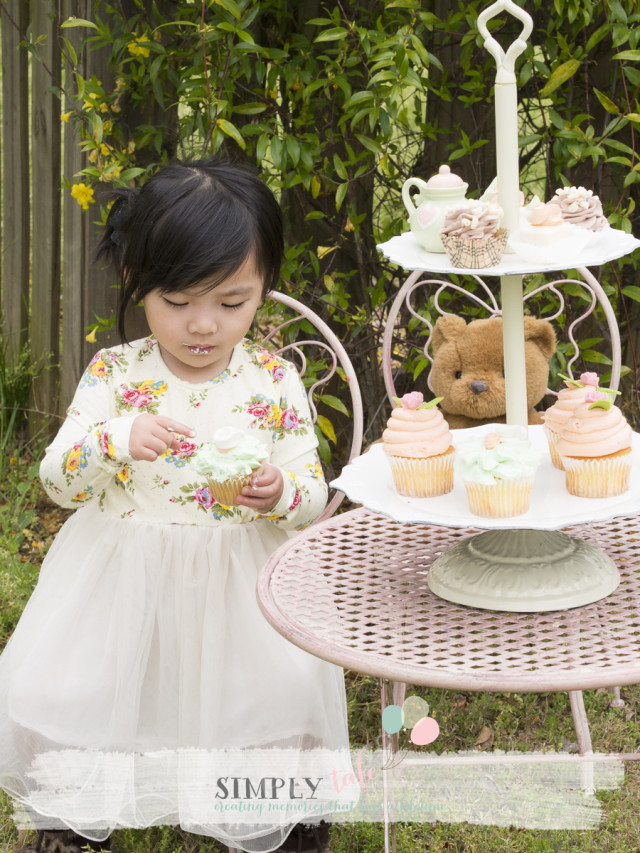 tea party, cupcake, pastel, girl's party, birthdaycupcakes, teddy bear, spring, brand rep, artificial cake, fake cake, friends forever bear