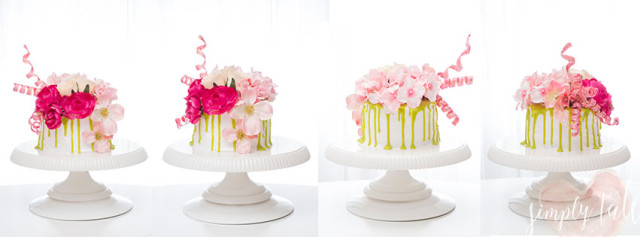 dripping cake, valentines cake, easy cake, cake for beginner, facebook cover image