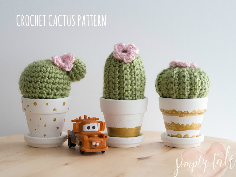 Crochet 3 Musketeer Cacti Pattern Simply Tale