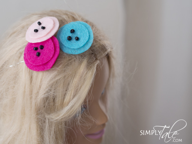 Poppy hair pins, spring, poppy, poppy hair pin, hairpin, felt, flower hair pin, flower