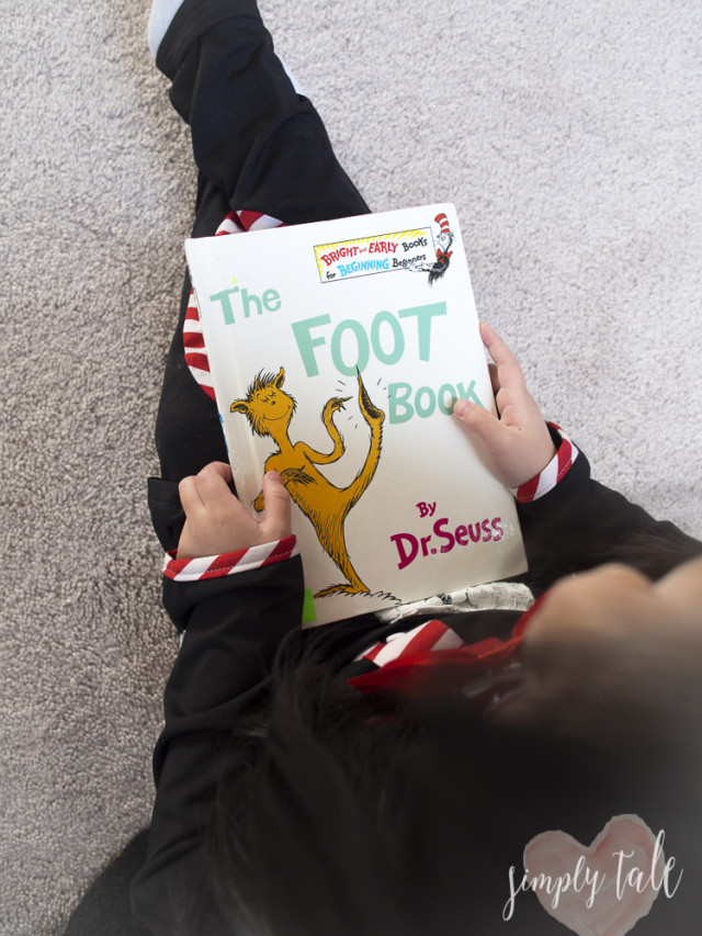 dr seuss, cat in the hat, children book, cat in the hat costume, national reading day, the foot book