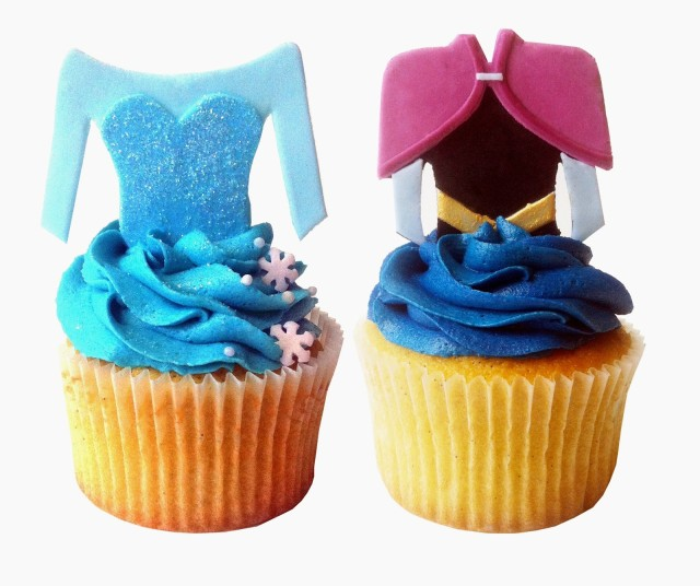 Princess Aurora cupcake, disney princesses, aurora, sleeping beauty, disney birthday, princess cupcakes, frozen, elsa, anna