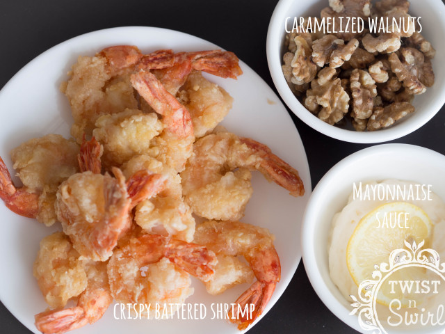 chinese food, walnut shrimp, honey walnut shrimp, home cooking, chinese cooking