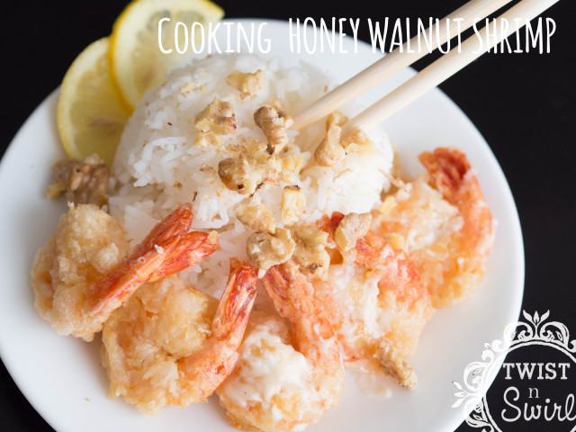chinese food, walnut shrimp, honey walnut shrimp, home cooking