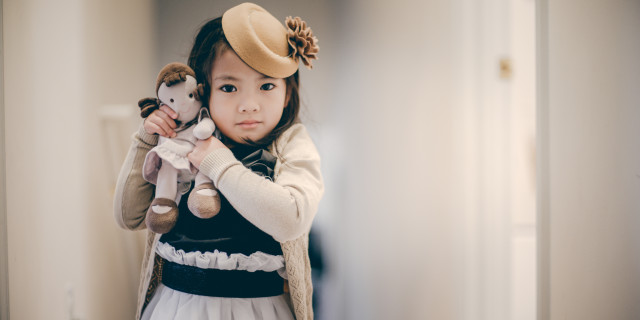 little girl, model