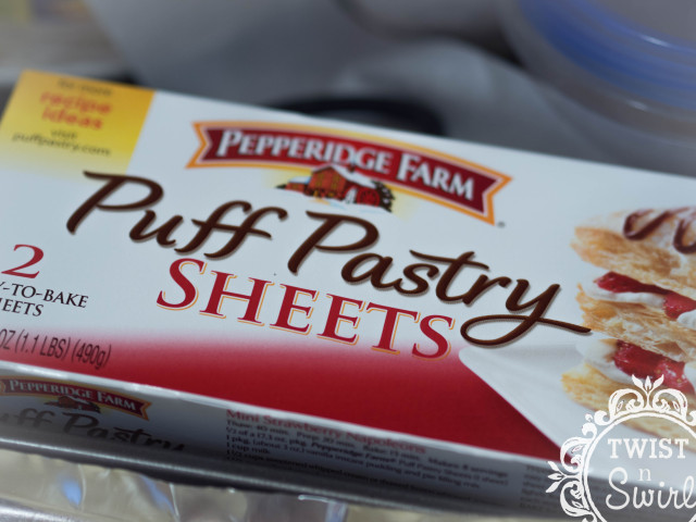 pepperidge farm, pastry, puff pastry, molen, banana puff pastry, comfort food