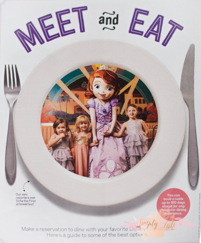 disney world, dine with disney characters, disney characters