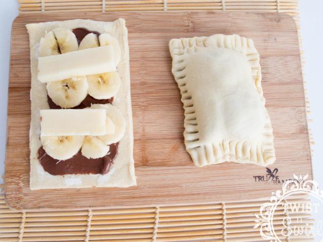 banana snack, dessert, pastry, molen, pisang molen, indonesian dessert