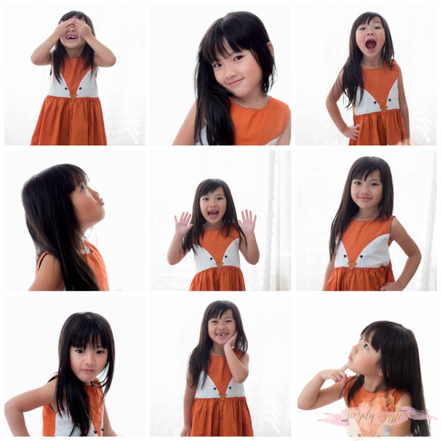 facial expression, kids modelling, girl model