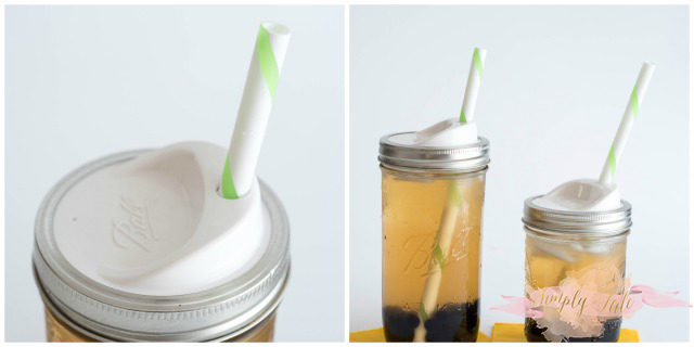 kerr, ball, mason jar, lid with straw