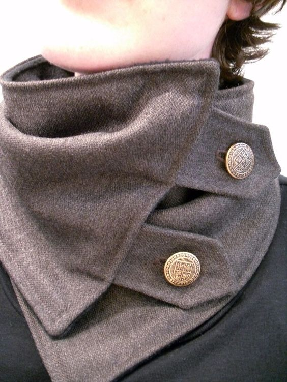 cowl, masculine, diy collar, ps i made this, neck warmer, stylish, swag, fashion, rock and roll, punk, diy neck warmer
