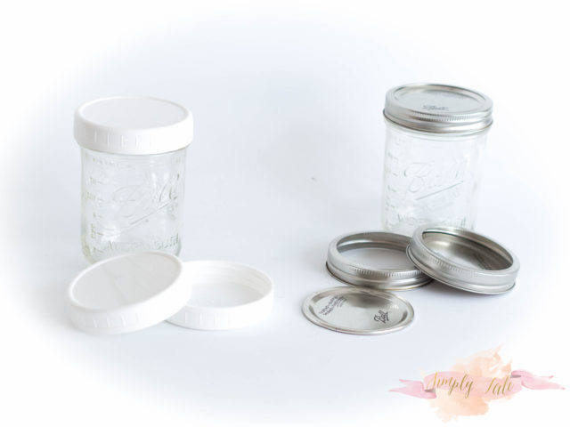 mason jar, reusable lid, wide mouth canning jar, wide mouth mason jar