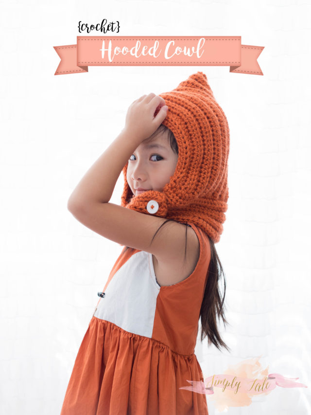 crochet, fall, crochet cowl, orange, fox, scarfie, free crochet pattern
