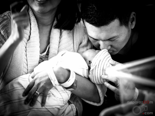 kids photography, hospital moment, baby born, birth