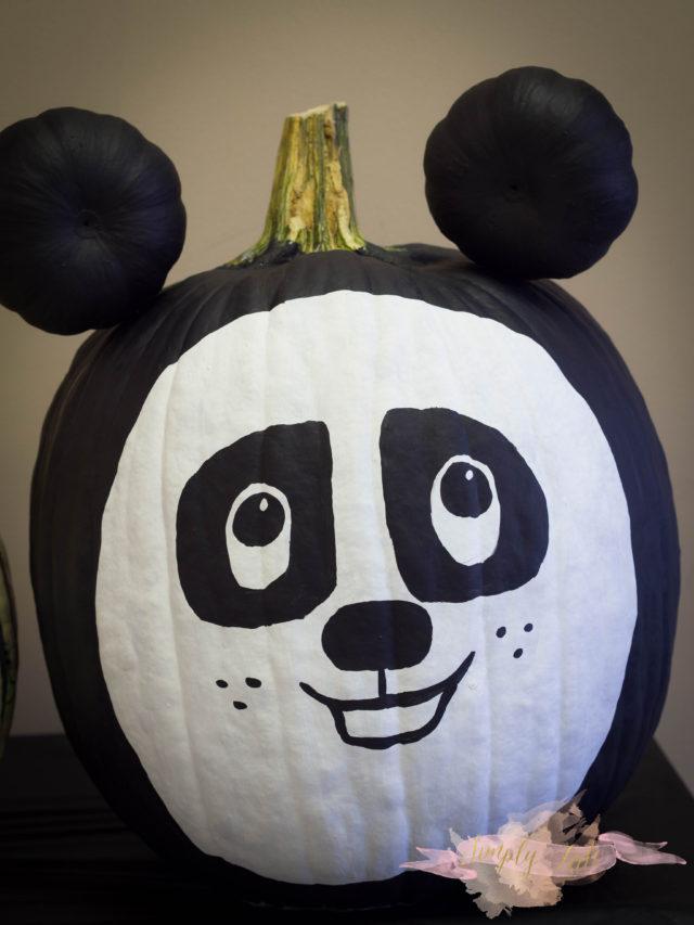 kungfu panda, panda, pumpkin, halloween, cute pumpkin, pumpkin for preschooler