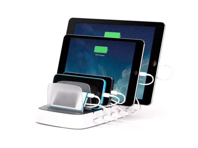 Griffin PowerDock 5, power dock, charger, gadget, electronic