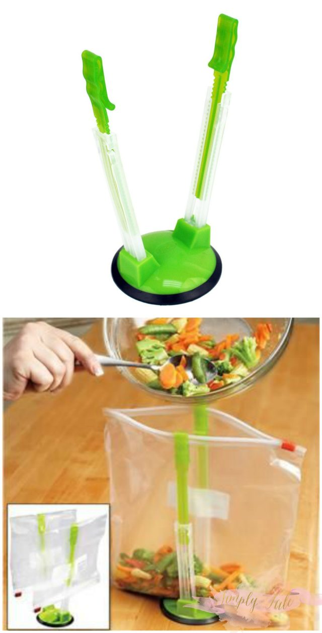food bag holder, kitchen gadget, must have in the kitchen, cheap gift, useful gift, christmas gift idea