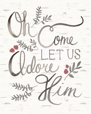 christmas decor, free printable, wall art, chalkboard, o holy night, christmas quote, chirstmas song, oh come let us adore him